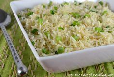 Sesame Garlic Basmati Rice!!