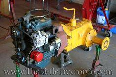The Little Tractor Co. specializes in custom hand made half scale tractors. Yard Tractors, Small Tractors, Compact Tractors, Triumph Motorcycles, Kawasaki Motorcycles, Mopar, Cub Cadet Tractors, Garden Tractor Pulling, Ducati