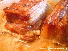 Czech Recipes, Russian Recipes, Pork Tenderloin Recipes, Pork Belly, Food 52, Bucky, Food And Drink, Gluten Free, Meat