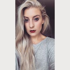 Ashy cool tone blonde