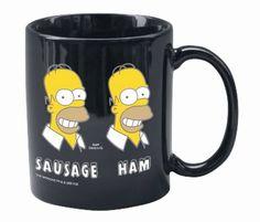 Una  tazza da te'  Con il mio personaggio dei simpson preferito