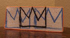 Basquiat - Crown - Wallet/Card Case. $15.00, via Etsy.