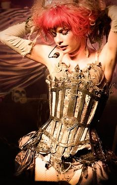 Nice use of a skeleton corset