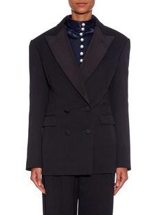 Double-breasted tuxedo jacket   Hillier Bartley   MATCHESFASHION.COM UK
