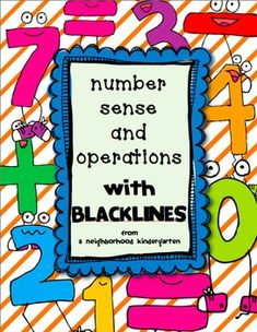 Number Sense and Operations Math Pack (INCLUDES BASE 10 fo