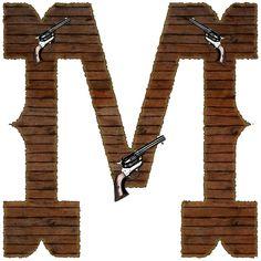 Alfabeto western...M