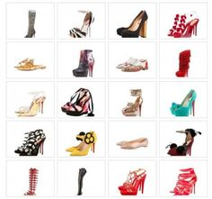 One of our favorite shoe designers Christian Louboutin celebrates a milestone anniversary. Which is your favorite style? Christian Louboutin, Paris Mode, Red Sole, Shoe Art, Parisian Style, Parisian Fashion, Carrie Bradshaw, Material Girls, Celebrity Pictures