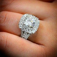 Jewelry & Watches Style Vintage Femmes Naturel Anneau Fiançailles Diamant 3.10 Carat Rond Brillia To Win Warm Praise From Customers