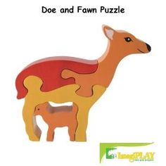 Doe and Fawn Puzzle, Puzzle Me Up