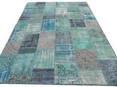 Overdyed Handmade Modern Turkish Wool Patchwork Rug Available in Any Size Color | eBay