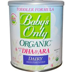 Baby's Only Organic Toddler Dairy Formula with DHA & ARA - 12.7 oz - 6 pk | Multicityhealth.com List Price: $99.98 Discount: $0.00 Sale Price: $99.98 PACK OF SIX