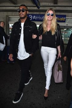 Doutzen Kroes and Sunnery James arrive in Cannes. Click on the image to read more.