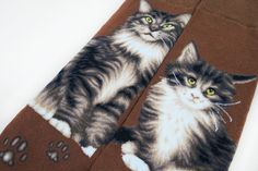 Cats - Maine Coon Men Size | JHJ Design - The Art of Wearing Socks