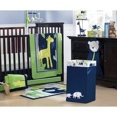 Carter's Safari Sky 4 Piece Crib Set