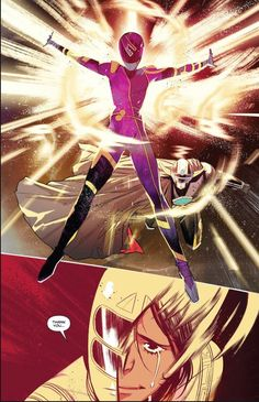 from Mighty Morphin Power Rangers Script by Marguerite Bennett Art by me AMAZING colors by Walter Baiamonte with. Character Art, Character Design, Go Go Power Rangers, Mighty Morphin Power Rangers, Kamen Rider, Nerd Stuff, Capes, Gundam, Harley Quinn