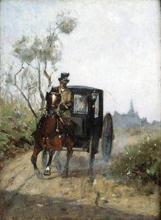 Henri de Toulouse Lautrec carriage