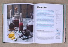 A trip to the market in 25 ingredients in This is the start of the blueberry chapter - It shows 5 different types of preserves you can make with blueberries then 2 'Center of the Plate' meals to use those preserves in easy, comforting delicious dishes! Batch Cooking, Tasty Dishes, Preserves, Blueberry, Alcoholic Drinks, Wellness, Tips, Recipes, Plate