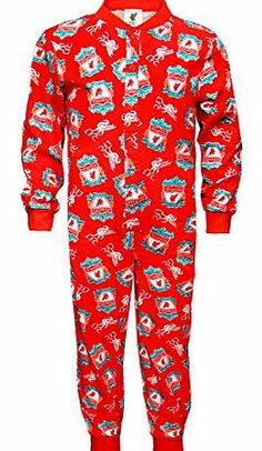 Liverpool FC Official Football Gift Boys Toddler Kids Pyjamas Red