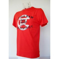 Camiseta G-star Rojo