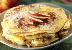 Pancakes noix farine complète