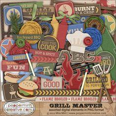 Grill Master Elements from peppermintcreative.com | #peppermintcreativewishlist