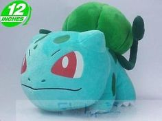 Plush-New-Pokemon-Bulbasaur-STUFFED-TOY-Doll-Figure-12-high-large-size