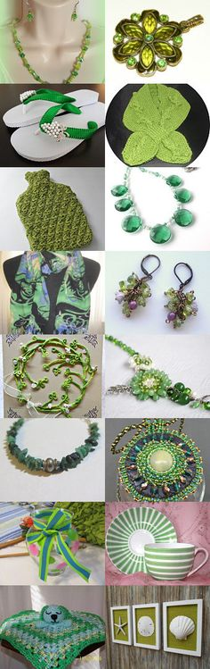Everything Green! by Jennifer Zia on Etsy--Pinned+with+TreasuryPin.com