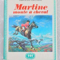 Martine monte à cheval   - Pauline et paulette la boutique vintage : www.paulineetpaulette.fr