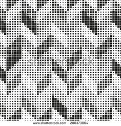 Seamless pattern. Stylish geometric texture in the form of chevron.