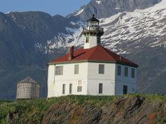 Eldred Rock Lighthouse. South of Haines, Alaska