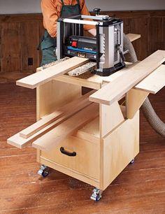 Planer Cart | Woodsmith Plans