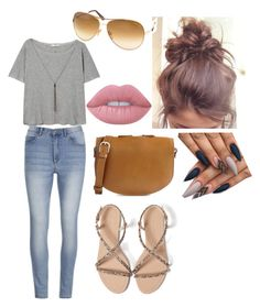 """""""Simple casual day"""" by mlwood2 on Polyvore featuring Cheap Monday, MANGO, Zara, A.P.C., Lime Crime and Tom Ford"""