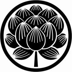 kamon japanese lotus - Google Search