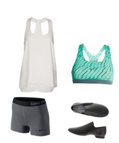 """""""Dance outfit"""" by meghan121823 on Polyvore Swim Wear, Dance Outfits, Swimming, Workout, Nike, Polyvore, How To Wear, Fashion, Swim"""