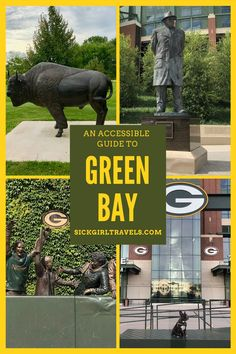 See, stay, and play in beautiful Green Bay. An accessible guide packed with more than just football and cheese. (But the football and cheese are also AMAZING!) #accessibletravel #travelforall #disability #chronicillness #chronicpain #Wisconsin #GreenBay #GreenBayWisconsin #Packers #GoPackGo #TravelWisconsin #OneidaNation Green Bay, Wisconsin, Michigan, Texas Travel, Travel Usa, Family Road Trips, Family Travel, Oneida Nation, Travel Guides