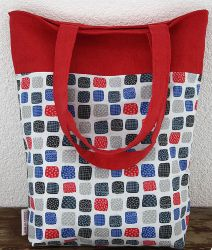 Two Colored Reversible Tote Bag