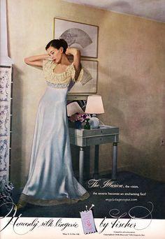 Vintage silk nightgown.
