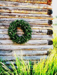 BEAUTIFUL BOXWOOD Wreath-LARGE Door Wreath-YearRound Wreath-Spring Grapevine Wreath-Scented Apple Cinnamon-Choose Scent & Ribbon on Etsy, $79.00