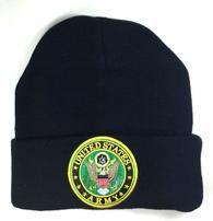 BLACK UNITED STATES ARMY STRONG BEANIE WINTER HAT SKI CAP LOGO SHIELD CREST US S-VarietyStore Mens Winter Beanies, Winter Hats, Hats For Sale, United States Army, Skiing, Baseball Hats, The Incredibles, Ski Resorts, Cap