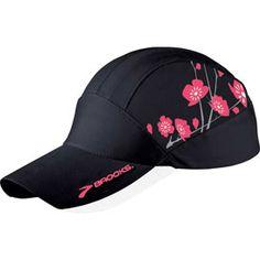 Brooks Printed Mesh Cap - breathable, reflextive running hat for women.