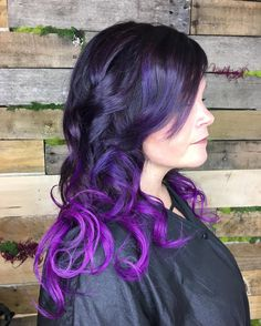 Purple+Ombre+for+Brunettes