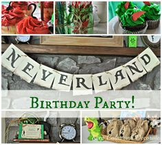 Neverland/Peter Pan Birthday Party!