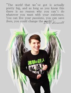 not just him but phil too Daniel James Howell, Dan Howell, You Are My Superhero, Phan Is Real, Dan And Phill, Phil 3, Danisnotonfire And Amazingphil, Tyler Oakley, Markiplier
