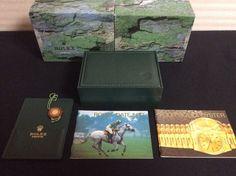 ROLEX VINTAGE BOX MONTRES ROLEX S.A GENEVE 68.00.55 + BOOKLETS TAG CARD HOLDER  #Rolex