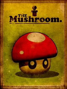 Super Vintage Mushroom- Paul Fellows