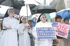 A report on the Stand Up for Religious Freedom Rally in Atlanta