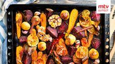 Roasted Vegetables, Veggies, How To Roast Hazelnuts, Sunday Roast, Cheesy Potatoes, Eating Plans, Coleslaw, Veggie Recipes, Tandoori Chicken