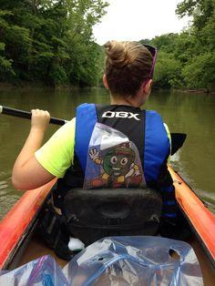 Gone kayaking!