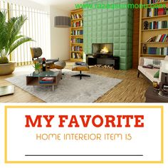 My favorite home interior item is? Type it below http://tracklix.com/a008