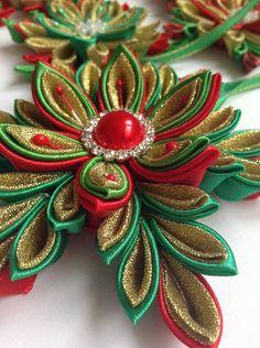 Dekorácie - Sada vianočných hviezd na stromček - 6094304_